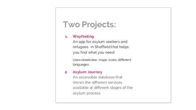 Report on Sheffield Hackathon For Refugees Slide 3