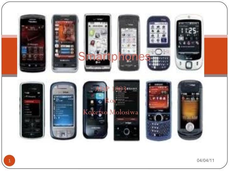 ADP 1003 Roy Koketso Molosiwa Smartphones 04/04/11