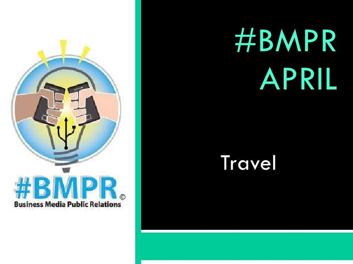 #BMPR APRIL Travel
