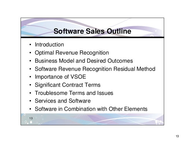 stretching the principles of revenue recognition essay However, in the real world such sales transactions are not as straight forward,  and the principle of revenue recognition is one that creates the most issues for.