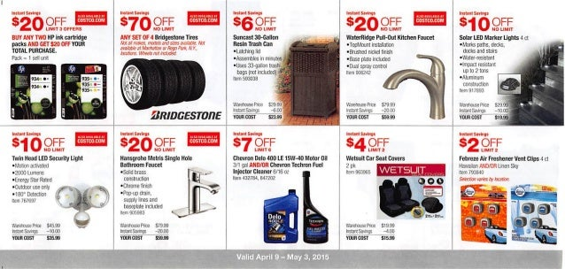 Costco tire coupons user manuals costco online coupons and sales array april 2015 costco coupon book rh slideshare fandeluxe Gallery