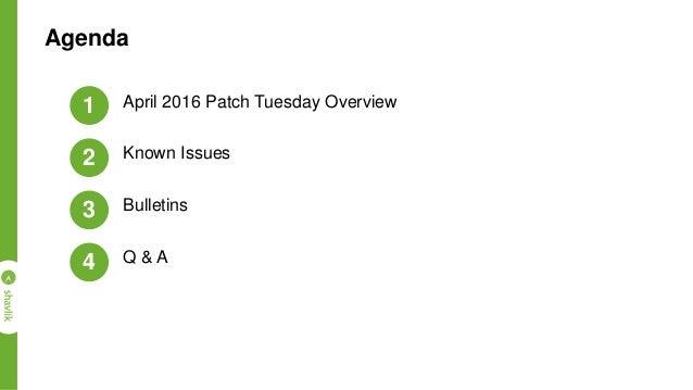 April 2016 Shavlik Patch Tuesday Presentation Slide 2