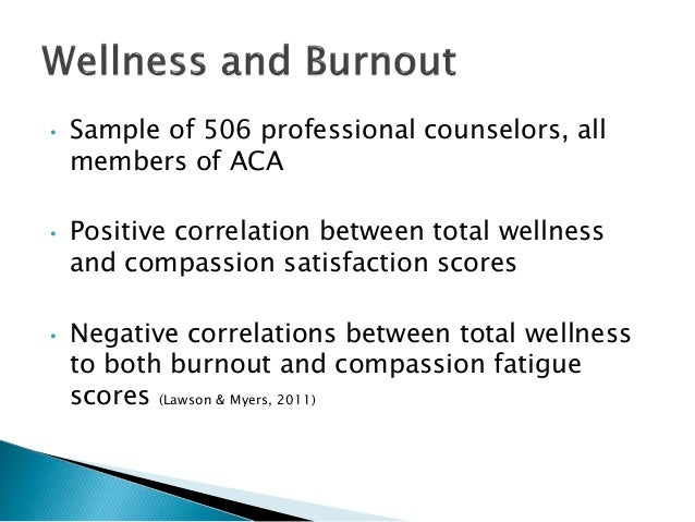 burnout in mental health counselors Many mental health workers fail to recognize their own burnout, and when they do, they struggle to admit it to others for fear of being judged, according to a.