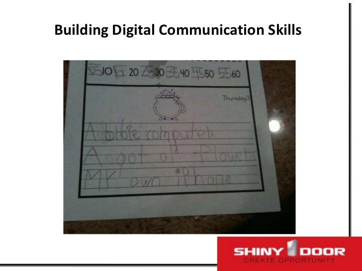 Building Digital Communication Skills<br />