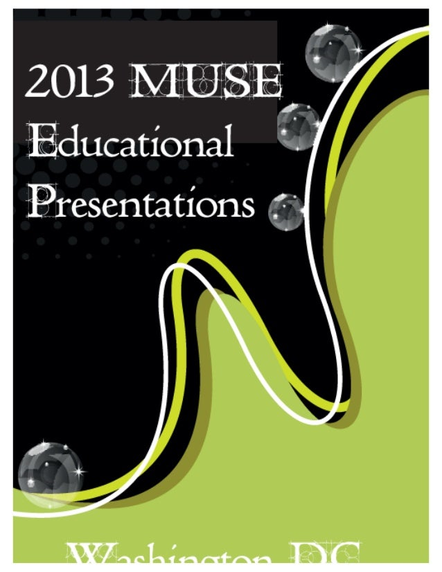 2013 International MUSE Conference