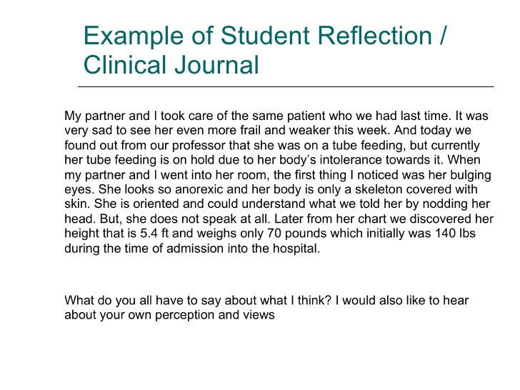 reflection on a clinical skill The clinical skill this reflective assignment will refer to i will be using the gibbs model of reflection being capable to perform a clinical skill in.