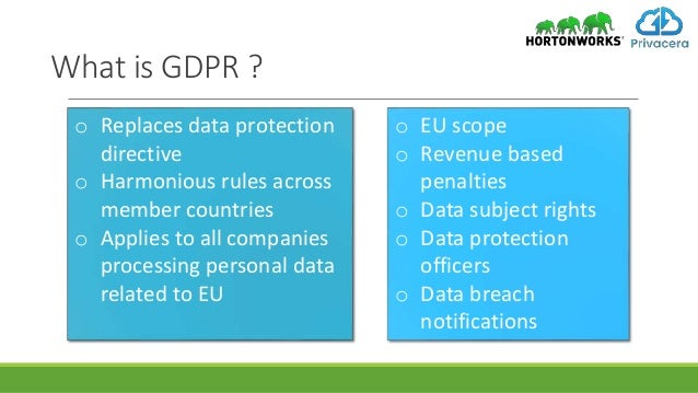 A Tale Of Two Regulations Cross Border Data Protection