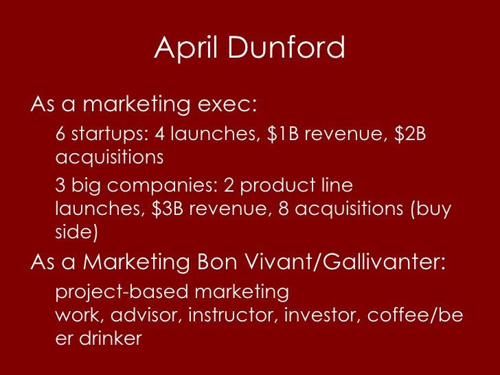 Startup Marketing: A Systems Approach Slide 2