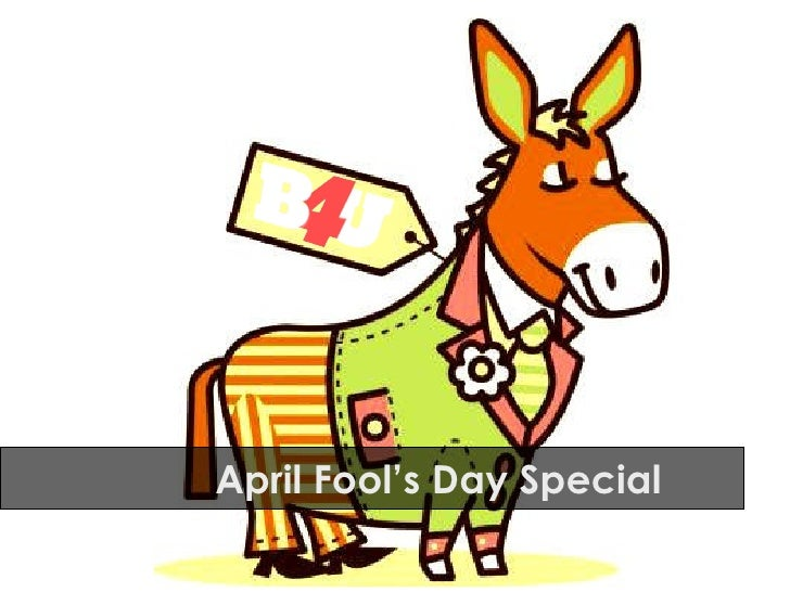 April Fool's Day Special
