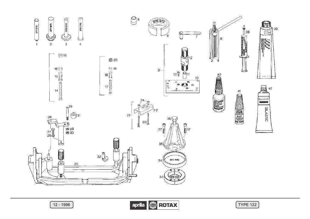 Aprilia+125+,Rotax+122+Manual+Reparatie