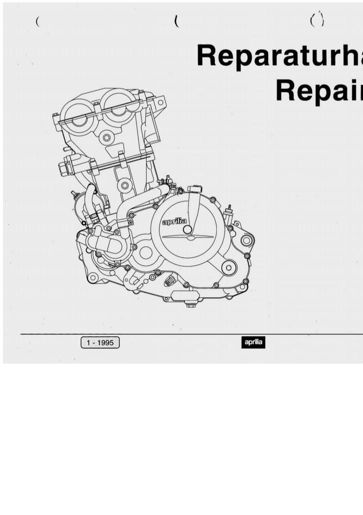 Aprilia pegaso 655 '95 repair manual