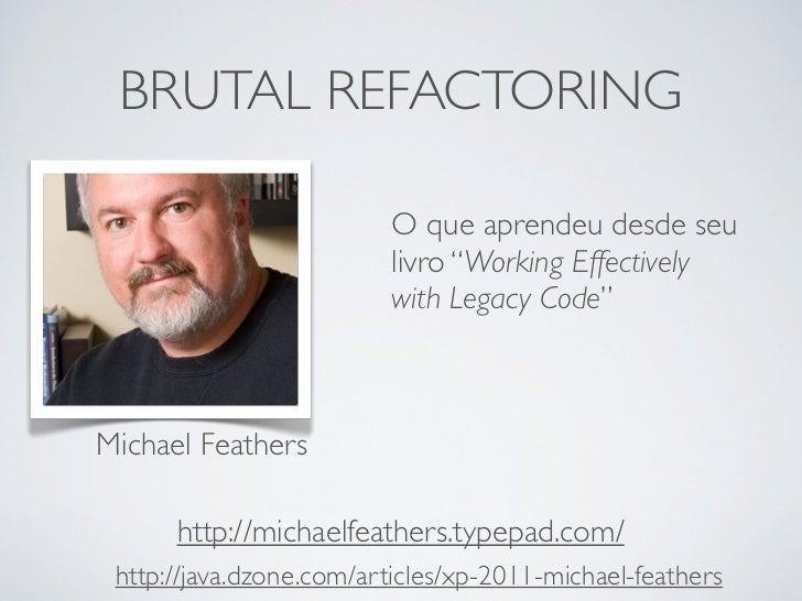working effectively with legacy code michael feathers pdf download