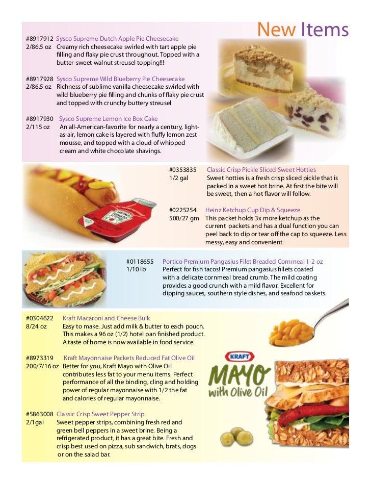 Sysco Food Magazine April 2011