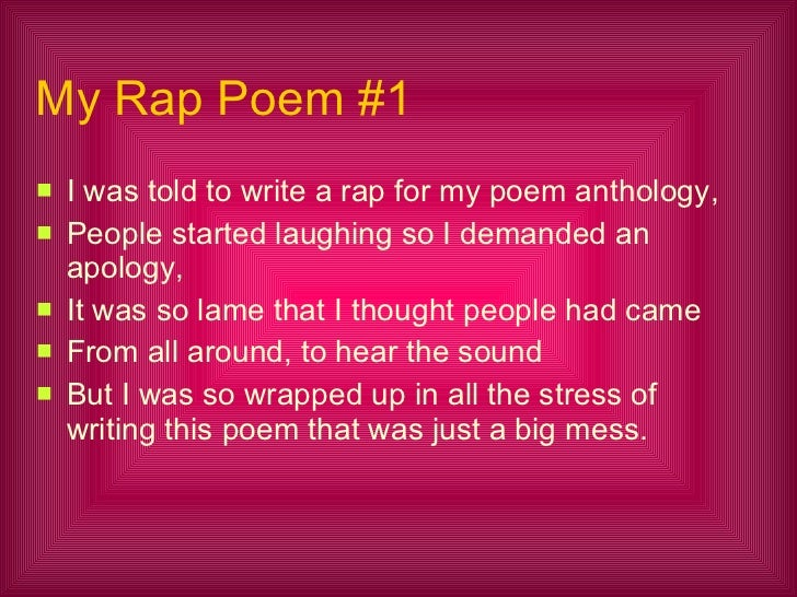 April\'s Poetry Anthology