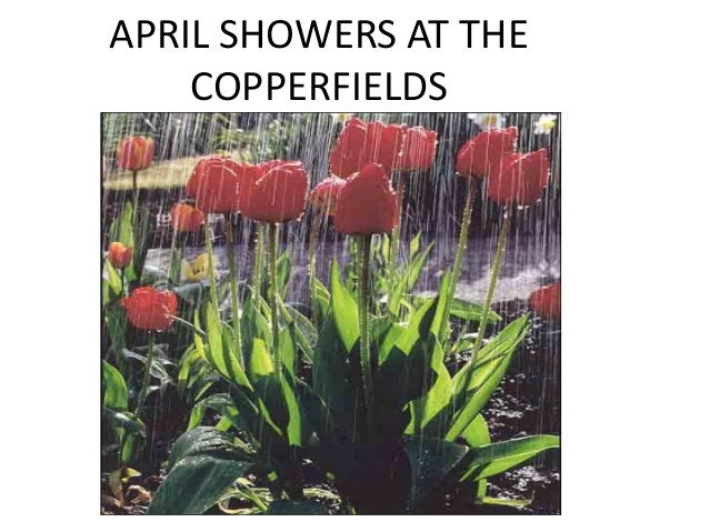 APRIL SHOWERS AT THE COPPERFIELDS