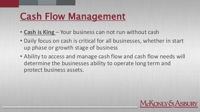 cash - Cash Management Skills
