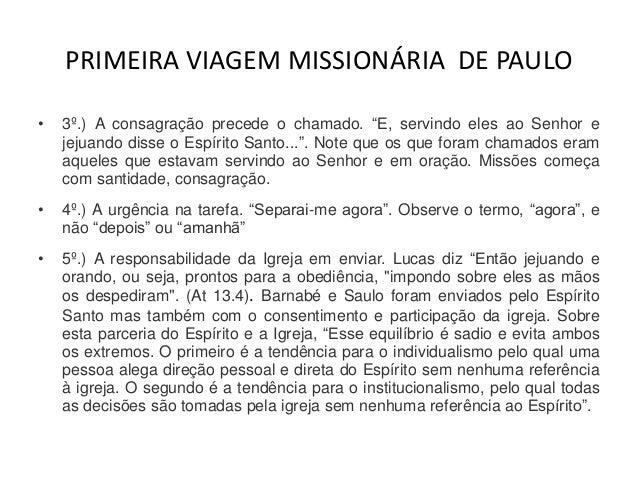 Frases Pai De Primeira Viagem: A Primeira Viagem Missionaria De Paulo