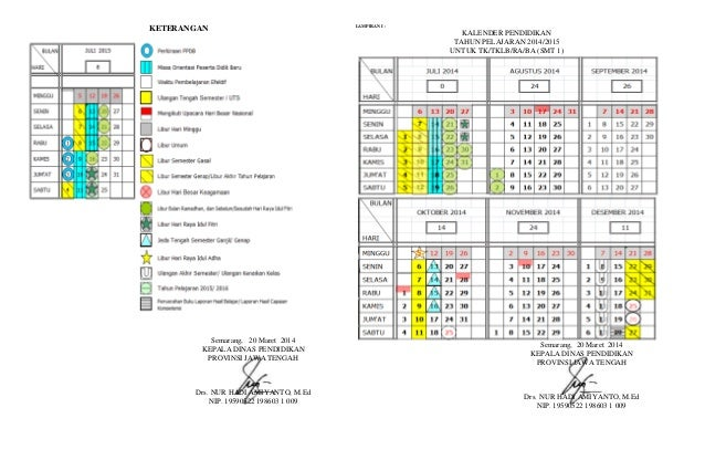 Kalender Pendidikan 2015 Untuk Sd Jawa Tengah Kalender Pendidikan Foto Bugil Bokep 2017
