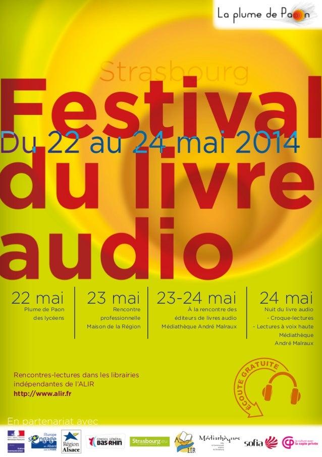 24 mai Rencontres-lectures dans les librairies indépendantes de l'ALIR http://www.alir.fr 23-24 mai23 mai22 maiPlume de Pa...
