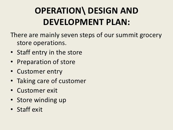 retail supermarket business plan pdf