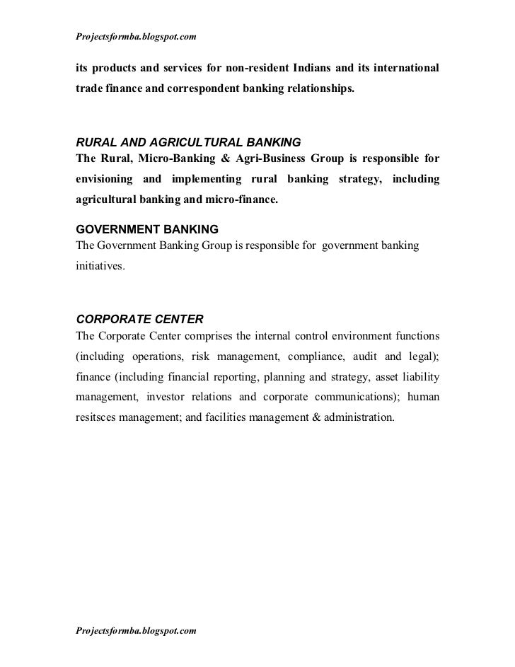 A project report on analysis of financial statement of icici bank
