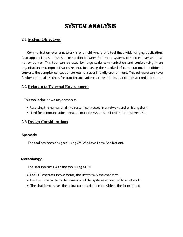 project report on android chat application pdf
