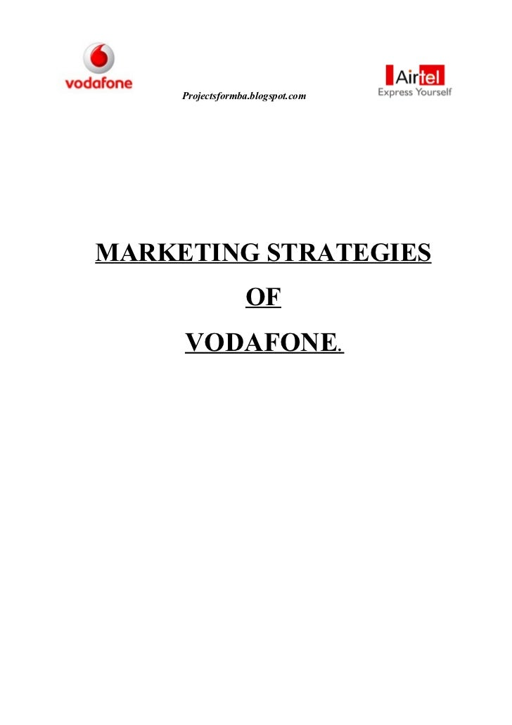 comparative analysis of vodafone and airtel