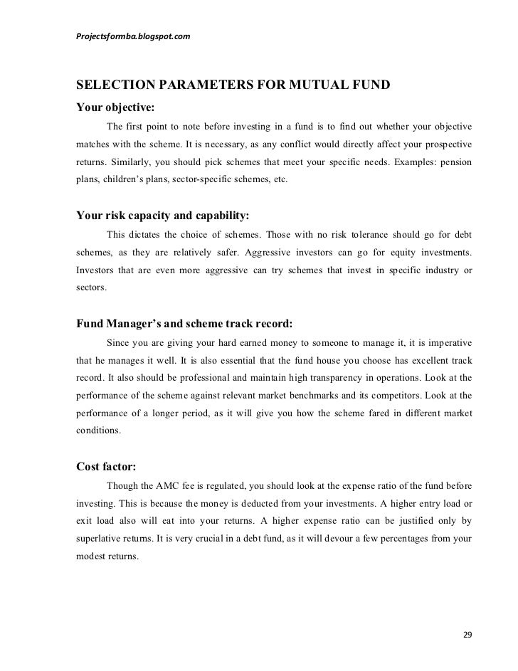 comparative study of mutual funds and Regarding the mutual funds in public and private sectors perceptions of investors  on mutual funds – a comparative study on public and private sector mutual.
