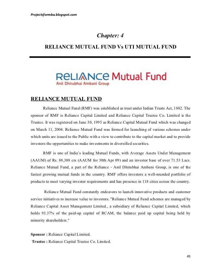 a comparative analysis of mutual fund Free essay: mutual funds vs fixed deposits: compare which is better  comparison between mutual funds and fixed deposits is a long debate,.