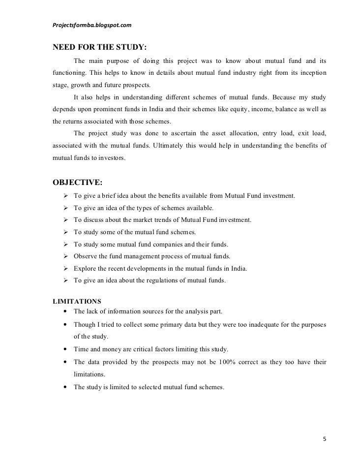 comparitive study of mutual funds Tag archives: ignou marketing project a study on performance analysis of selected mutual funds: a comparitive study: mm019.