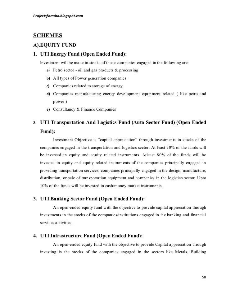 comparative study of mutual funds and The research article is titled as comparative study on performance of selected  mutual funds with reference to indian context the main objective.