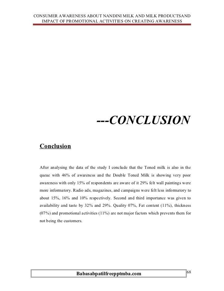 an essay on consumer awareness