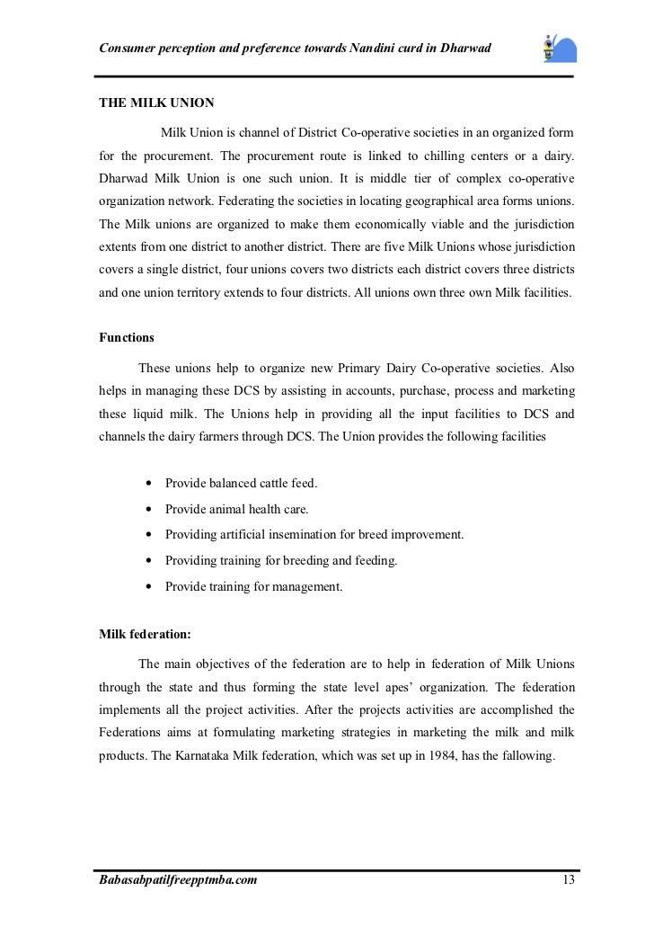 consumer preference towards kfc