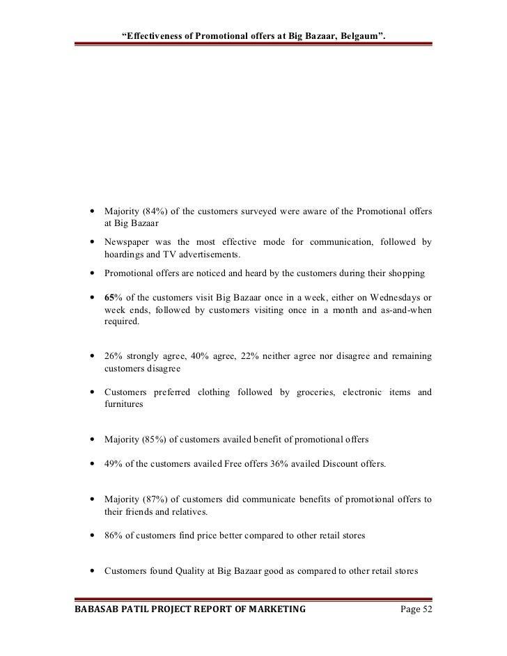 effectiveness of sales promotion pdf
