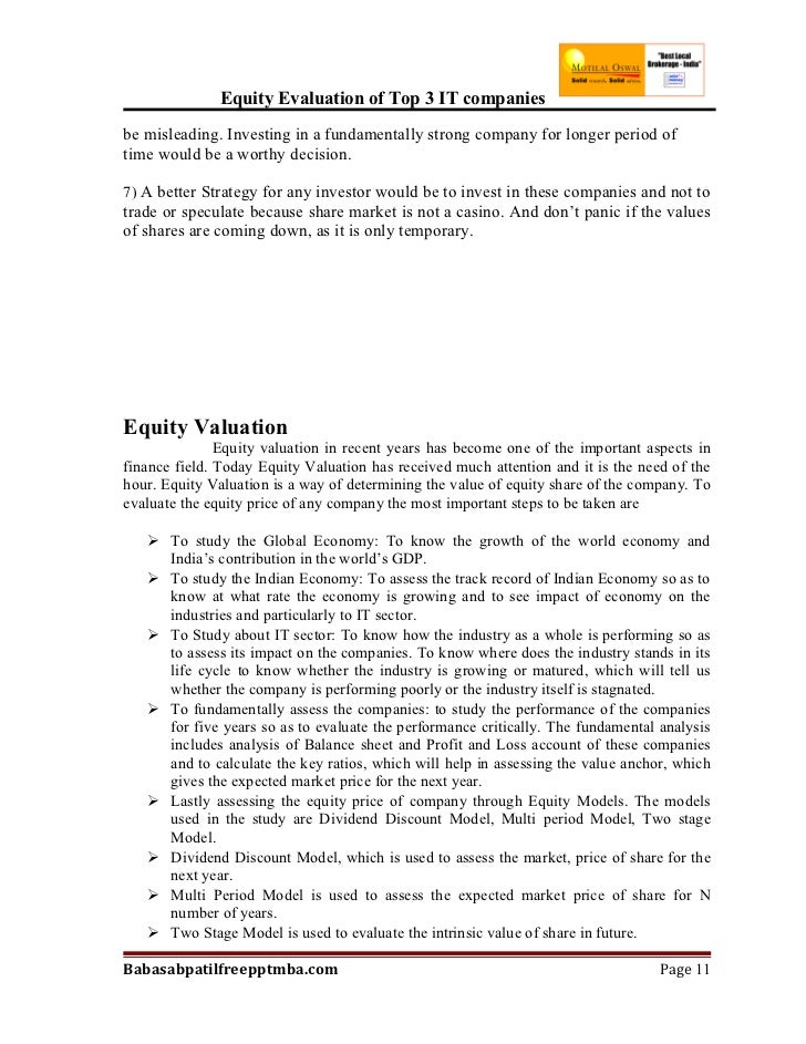 Hmo writing research papers on equity valuation.pdf writing a report based on a case study