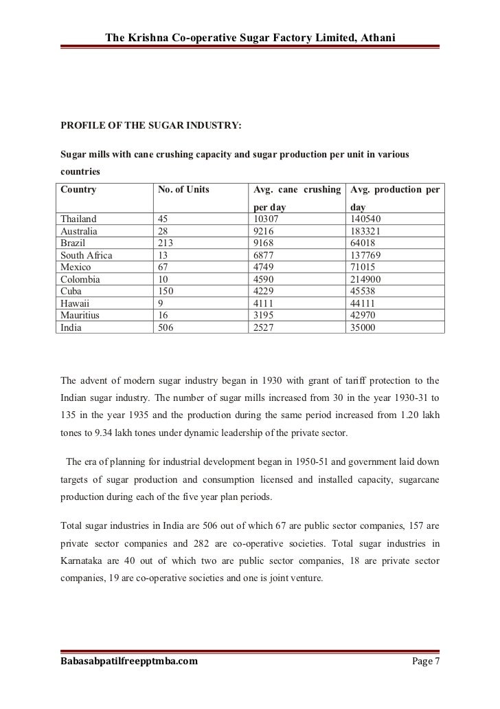 a study on sugar mill project reports Report title: ecofarm irrigation and organic sugarcane project mozambique,  draft final  mill and captive power plant on the site, to optimise the production  of sugar from the  seven specialist studies were undertaken as part of the  esia.