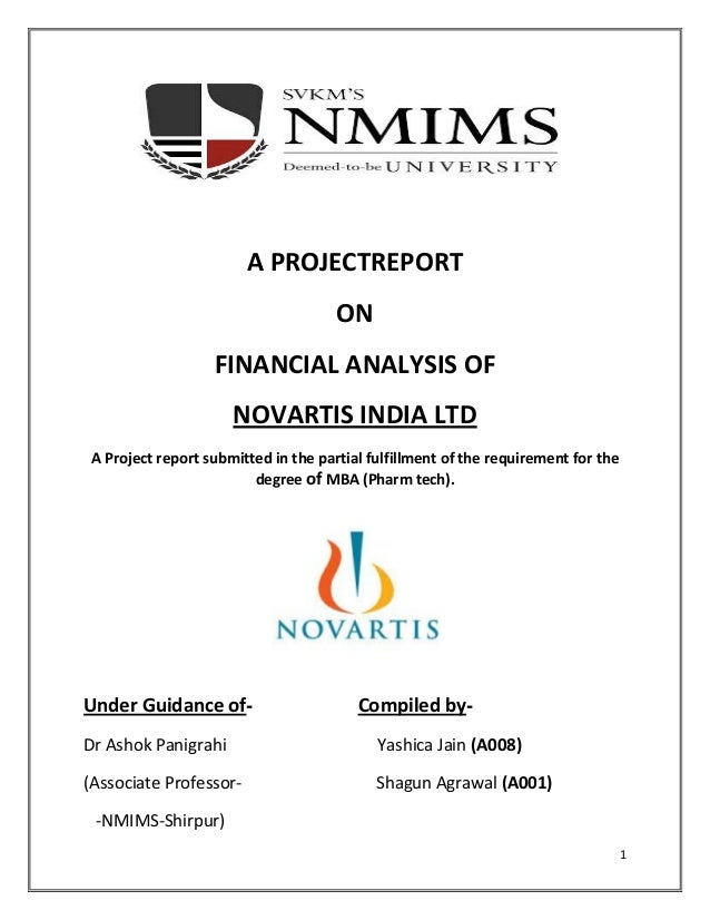 Analysis of Financial Statements - Free Financial Analysis ...