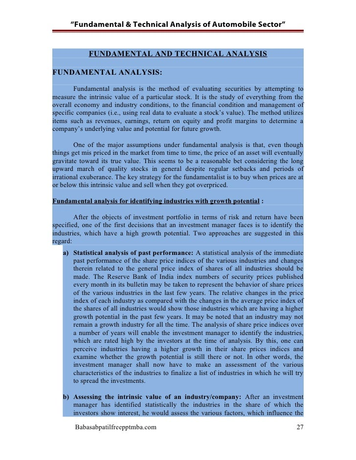project on fundamental analysis of power sector Fundamental stockselect  power sector analysis report  indian power sector has had eventful developments in not only generation and transmission capacity.