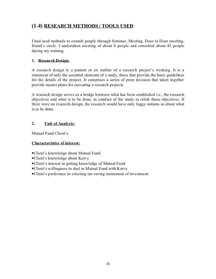Research paper oninvestment advisors representatives