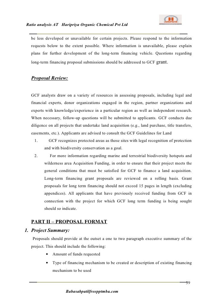 project report on ratio analysis on Ratio analysis – ratios formulae  august 21 2014 written by: edupristine  we have discussed various ratios and their importance starting with introduction to ratio analysis and classification of ratios, we have explained the importance of using various ratios and the formulae of how they are calculated.