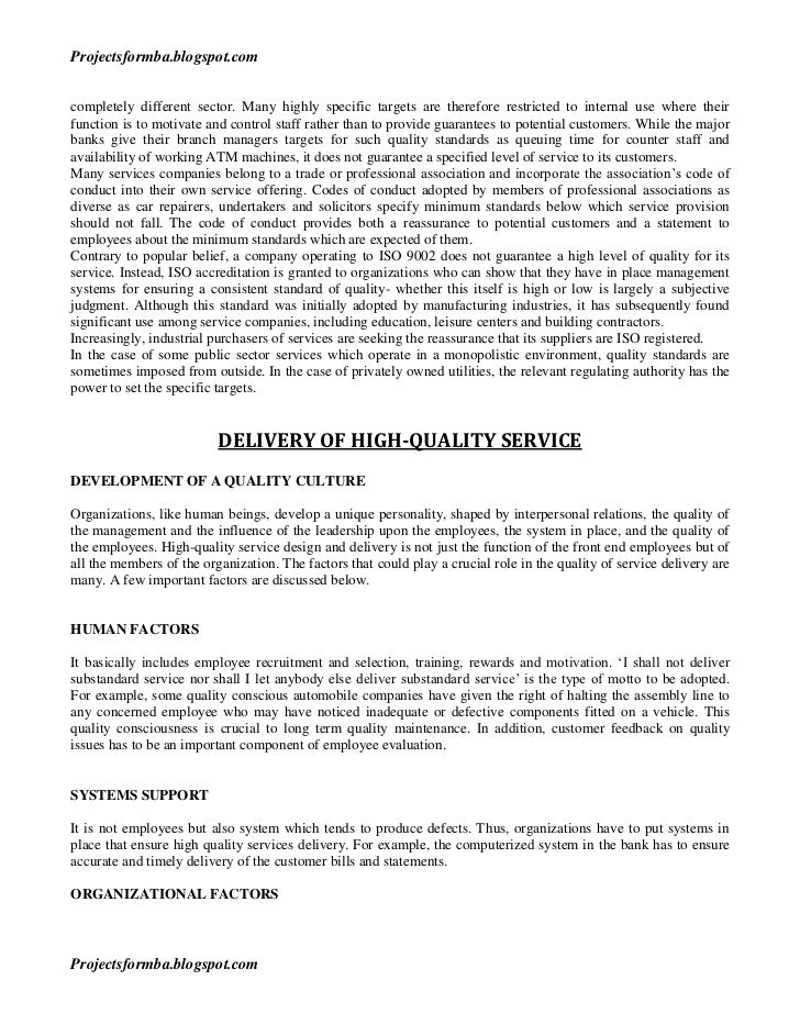 service quality in higher education - thesis Service quality and student satisfaction: a case study at private higher education institutions.