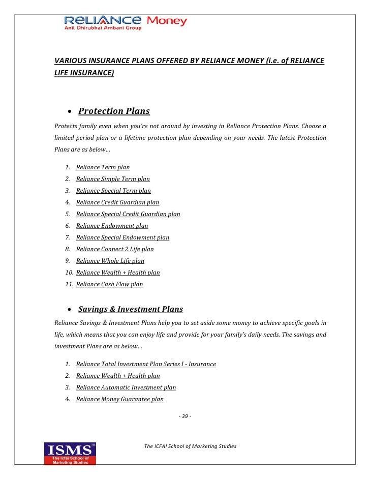 marketing strategy reliance life insurance Apply to 1120 reliance life insurance backend jobs in chennai on naukricom, india's no1 job portal explore reliance life insurance backend job.