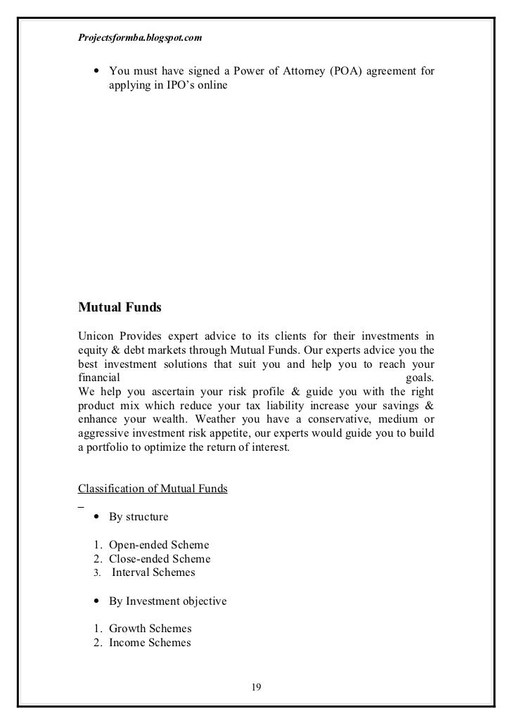 research report on risk and return analysis of mutual fund under hdfc and icicii Under equity, the fund standard risk factors: investment in mutual fund units involves publication of research report: hdfc bank or its associates may.