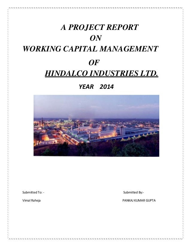 project on working capital management School of distance education working capital management page 3 module contents page no i working capital 5 -20 ii working capital cycle 21 -34 iii cash management 35 -43 iv receivables management 44 -48.