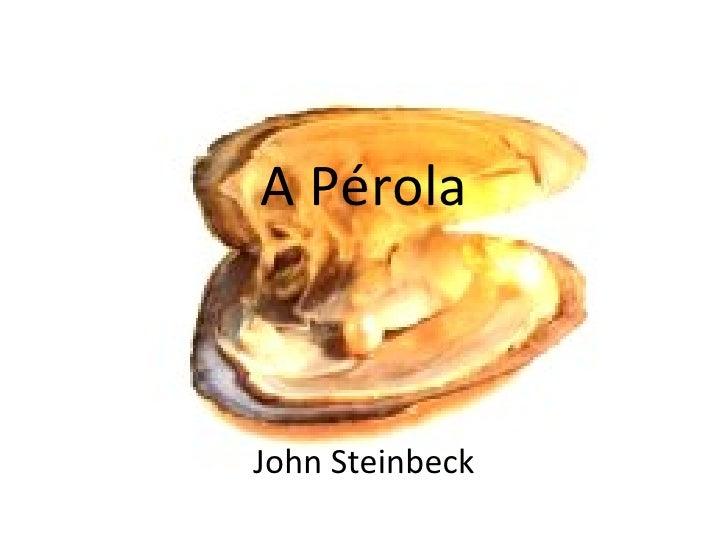 A Pérola John Steinbeck