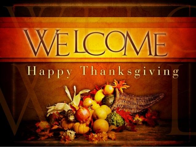 A Proper Thanksgiving