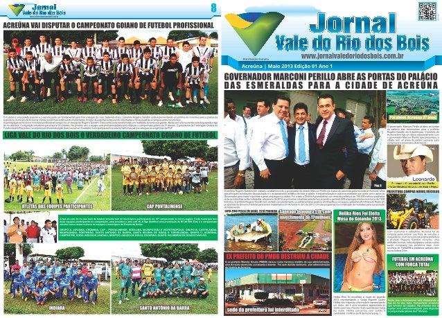 Jornal Vale do Rio dos Bois - Acreúna - Goiás