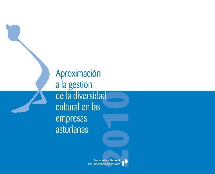 Aproximacióna la gestiónde la diversidadcultural en lasempresasasturianas