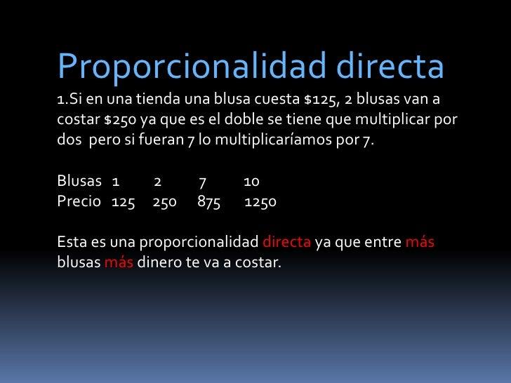 proyecto de matemáticas-proporcionalidad  Slide 3