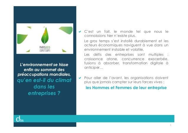 © Dibs I Confidentiel 3 L'environnement se hisse enfin au sommet des préoccupations mondiales, qu'en est-il du climat dans...